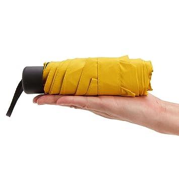 Faltbarer Schirm Mini Kompakt Leichtes Reise Regenschirm Regen Wasserdicht