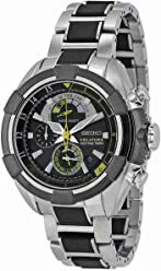 Seiko SPC147P1 Velatura Mens Watch - Black Dial