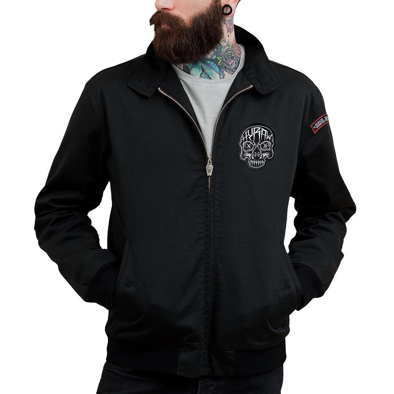 Hyraw Men's Blouse Jacket Black Black