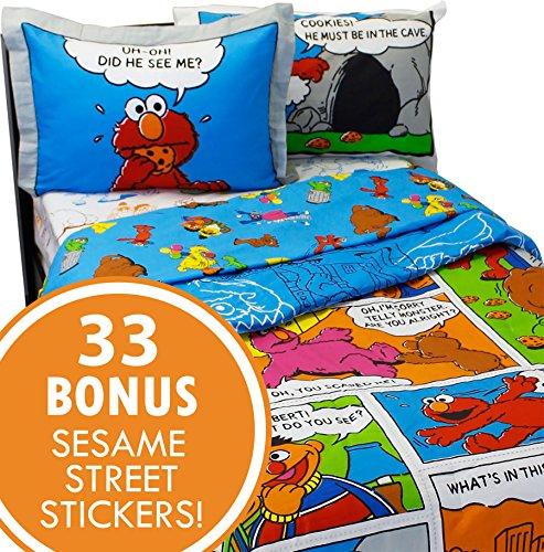 Sesame Street Bedding Sticker Monster