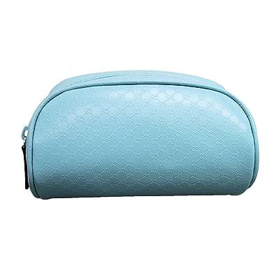 e996a94ba697 Amazon.com: Gucci Women's Blue PVC GG Cosmetic Bag 277652 3901: Shoes