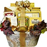 Old World Charm Gourmet Food and Snacks Gift Basket (Candy Option)