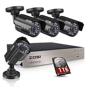 61tzrX2orbL._SY355_ amazon com zosi 8ch security camera system hd tvi full 1080p video