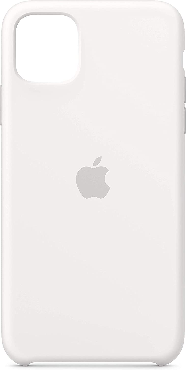 Apple Silicone Case (for iPhone 11 Pro Max) - White