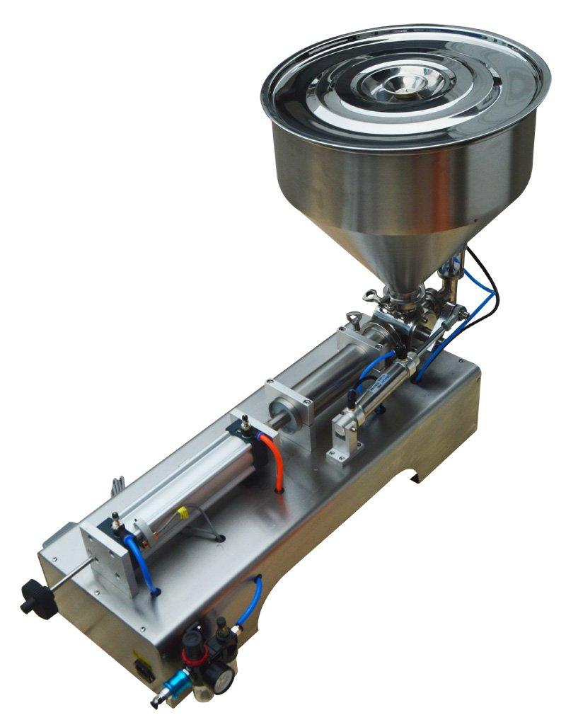 Techtongda 110V Pneumatic Dual-Use Paste Liquid Filling Machine 10-300ml For Emulsion Toothpaste Essential Oil(Item#160410)