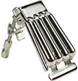 Golden Gate P-111 Clamshell Style Banjo Tailpiece - Nickel