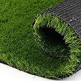 GTC Arificial 20 mm Grass For Floor, Soft And Durable Plastic Natural Garden Plastic Turf Carpet Mat, Artificial Grass(6.5 X 4 Feet)