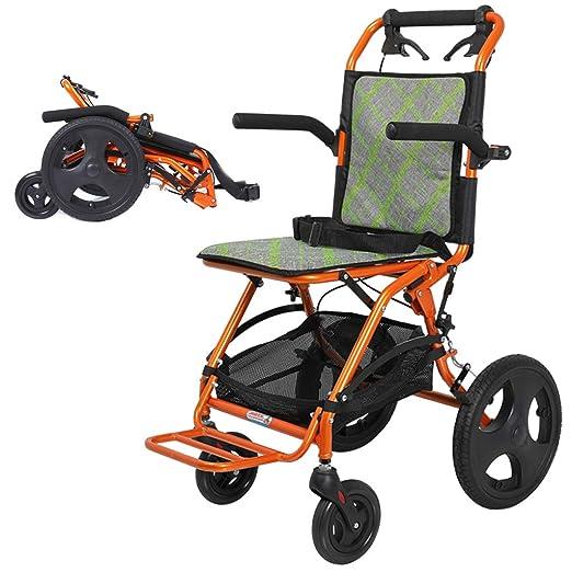 Sillas de ruedas ligeras con freno de mano, sillones de ...