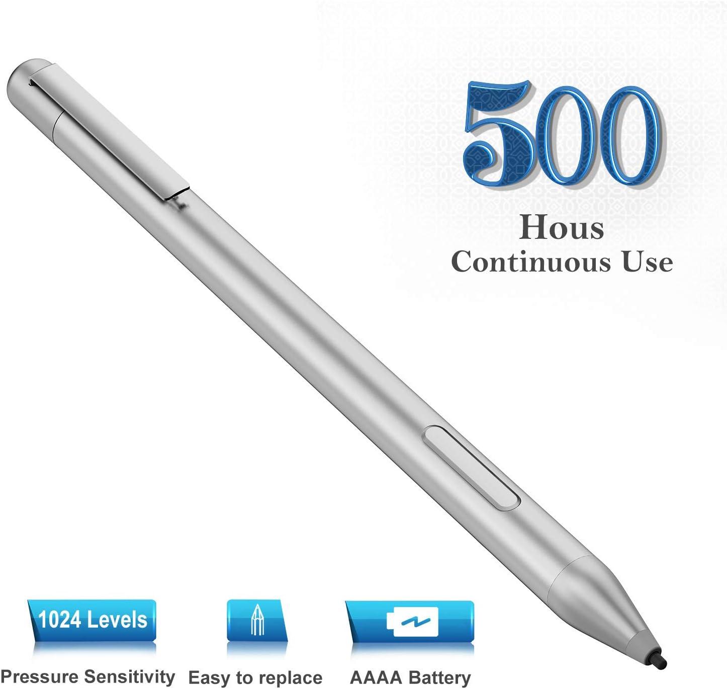 Stylus Digital Pen for HP Chromebook x360 11G1;Envy x360 13-ag0 13z-ag0xxx 15-bp1 15-bq1 15-cn0 15-cn0xxx 15-cp0 15-bp0xx 15-bq0xx 15-bqxxxx 15M-BP012DX 15M-BP112DX 17-aexxx,1000 Hours Usage Times
