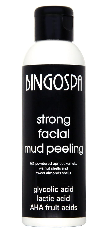 BingoSpa Peeling forte al fango da viso- acido glicolico e lattico, acidi di frutta 100 g