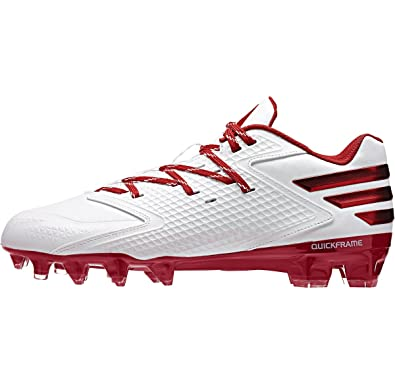 34f09124f71 adidas Freak X Carbon Low Mens Football Cleat 13.5 White Power Red