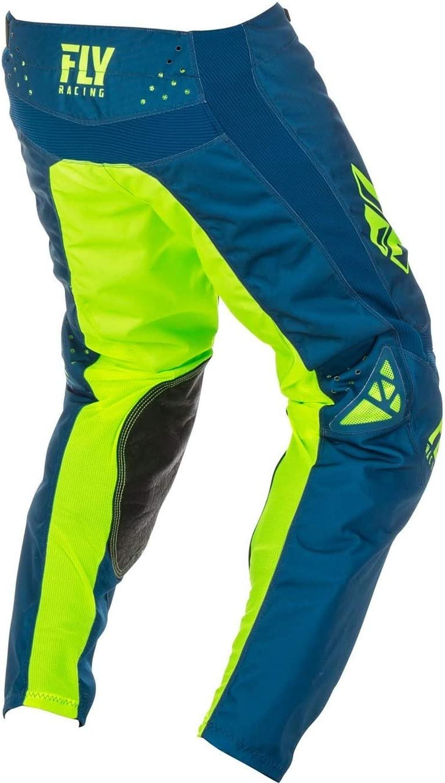 372-43130 Fly Racing 2019 Kinetic Shield Motocross Pants 30 Navy Hi-Vis