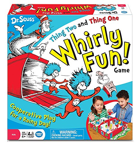Dr. Seuss Thing Two Thing One Whirly Fun! (Spinny Hat)