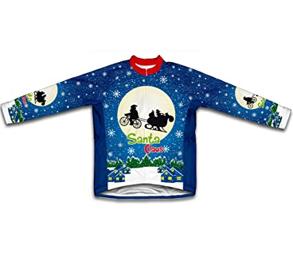 Amazon.com   ScudoPro E.T. Santa Claus Long Sleeve Cycling Jersey ... ca1112464