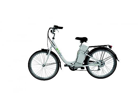 Bicicleta eléctrica Wayscral Basy 315, 24 V, blanco: Amazon.es: Deportes y aire libre