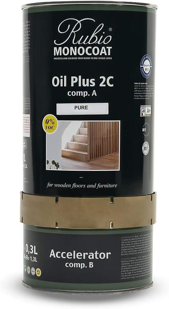 Rubio Monocoat Oil Plus 2C, PURE, 1.3 Liter Review