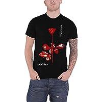 Depeche Mode T Shirt Violator Cover Band Logo Official Mens Black