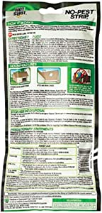 Hot Shot HG-5580 No Pest Strip Unscented Hanging Vapor Insect Repellent; Kills Both Flying and Crawling Pests; Perfect Protection for Garages, Attics, Basements, Campers; (Pack of 4)
