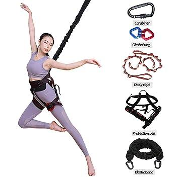 Amazon.com: Cuerda elástica pesada para yoga, para casa ...