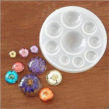 VWH- Kits de resina de silicona, molde de resina, moldes para hacer joyas, manualidades: Amazon.es: Hogar
