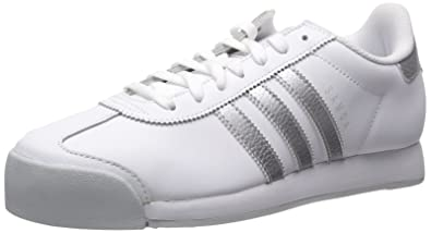 adidas Originals Men's Samoa Retro Sneaker,WhiteMetallic