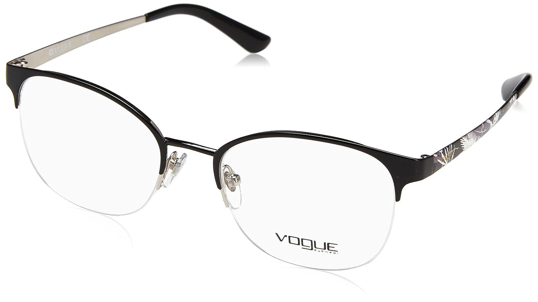 ba3e92a871 MujerBlack52Amazon De Gafas 0vo4071Monturas Vogue Para es SqMzUVp