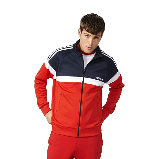 Track Adidas Adidas Jacket Synthetic Men's Synthetic Track Men's SzUMqpV
