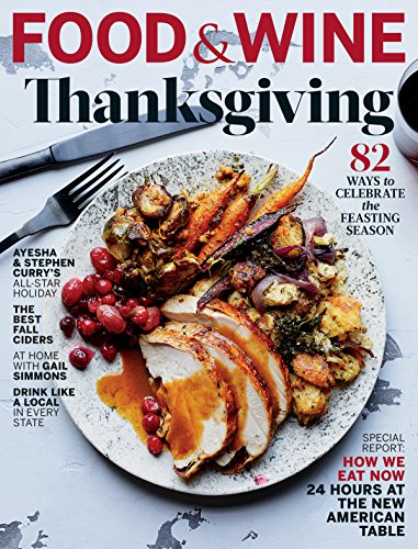 Food & Wine November 2017