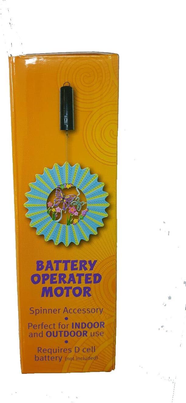 Spin Art/ da appendere certificazioni/CE e RoHS funzionamento a batterie,/30/giri//min / Motore leggero per girandola a vento