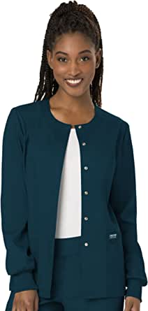 CHEROKEE WW Revolution Women's Snap Front Warm-up Jacket
