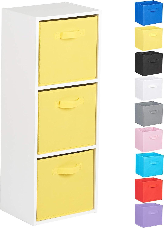 Choix de Boites de Rangement Hartleys Unit/é Cube Blanc a 3 Niveaux