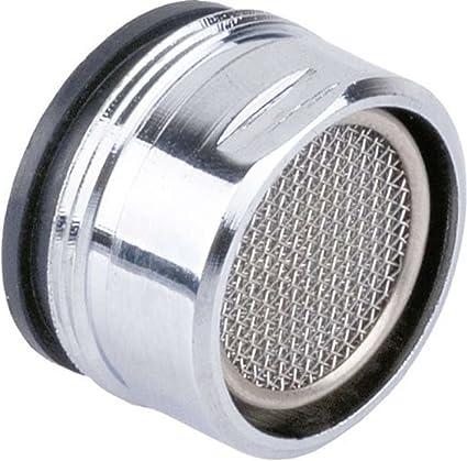 M24 pezzo di ricambio lucidato in acciaio inossidabile filtro schermo cucina bagno cromatura in ottone con guarnizioni maschio filettate Set di 12 aeratori per rubinetto maschio