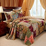 Greenland Antique Chic Sham, King, Multicolor
