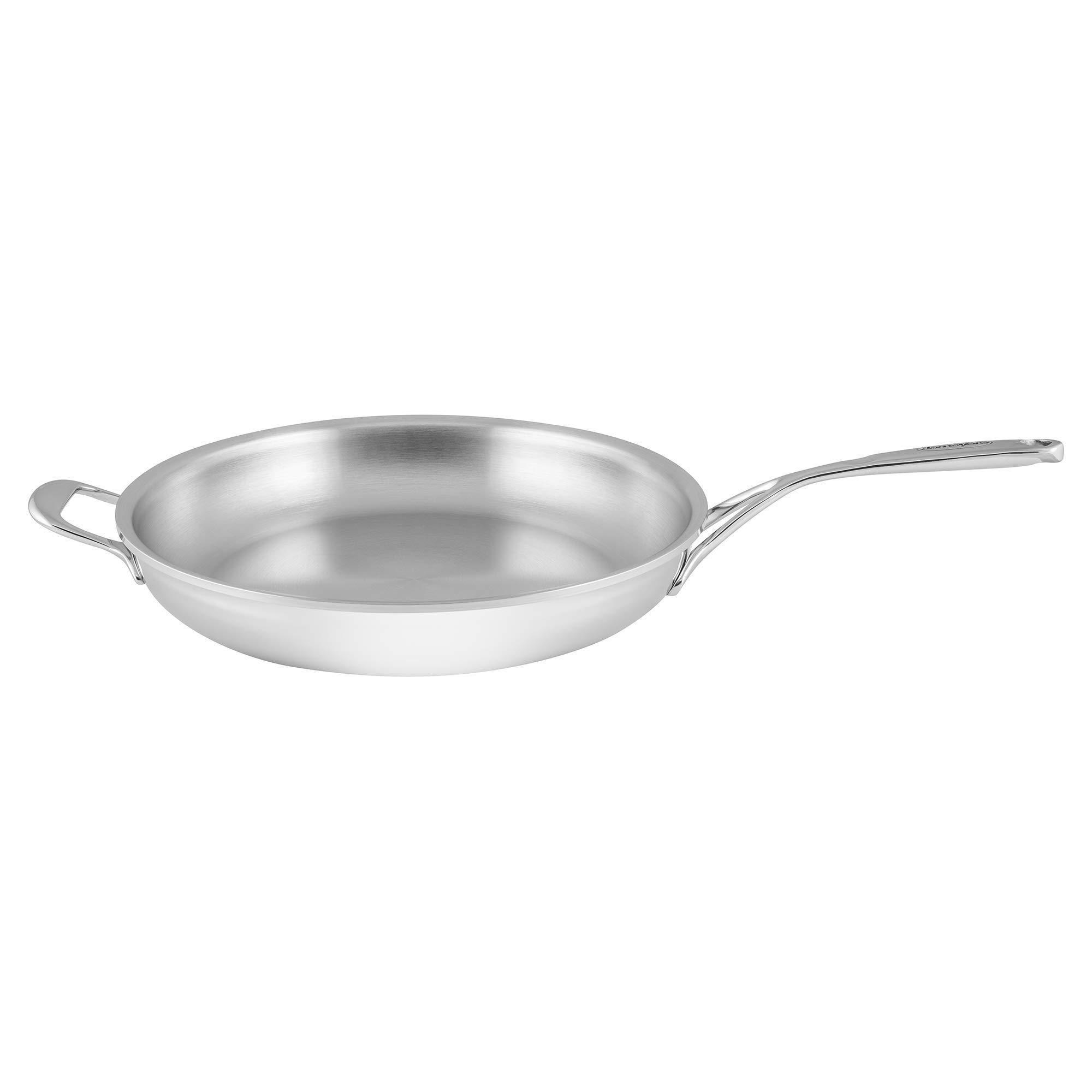 Demeyere Atlantis Proline 12.6'' Stainless Steel Fry Pan with Helper Handle