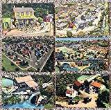 13 PCs Roadside America Indoor Miniature Village in Hamburg, Pennsylvania~108088