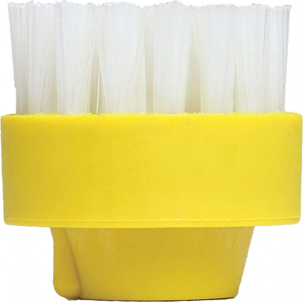 Yellow Nylon Brush, For Use With Mfr. No. GVC-18000, 6 PK