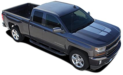 cbe3be01e0 STERLING RALLY   2016 2017 2018 Chevy Silverado  quot Rally Edition  Style quot  Hood