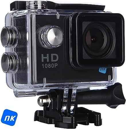 NK Cámara Deportiva AC3101-FH, 12Mpx Full HD 1080p, Pantalla LCD 2.0
