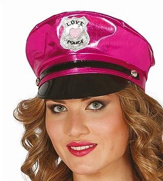 Guirca 13359 - Gorra Policia Sexy Rosa  Amazon.es  Juguetes y juegos 9ac751f10be