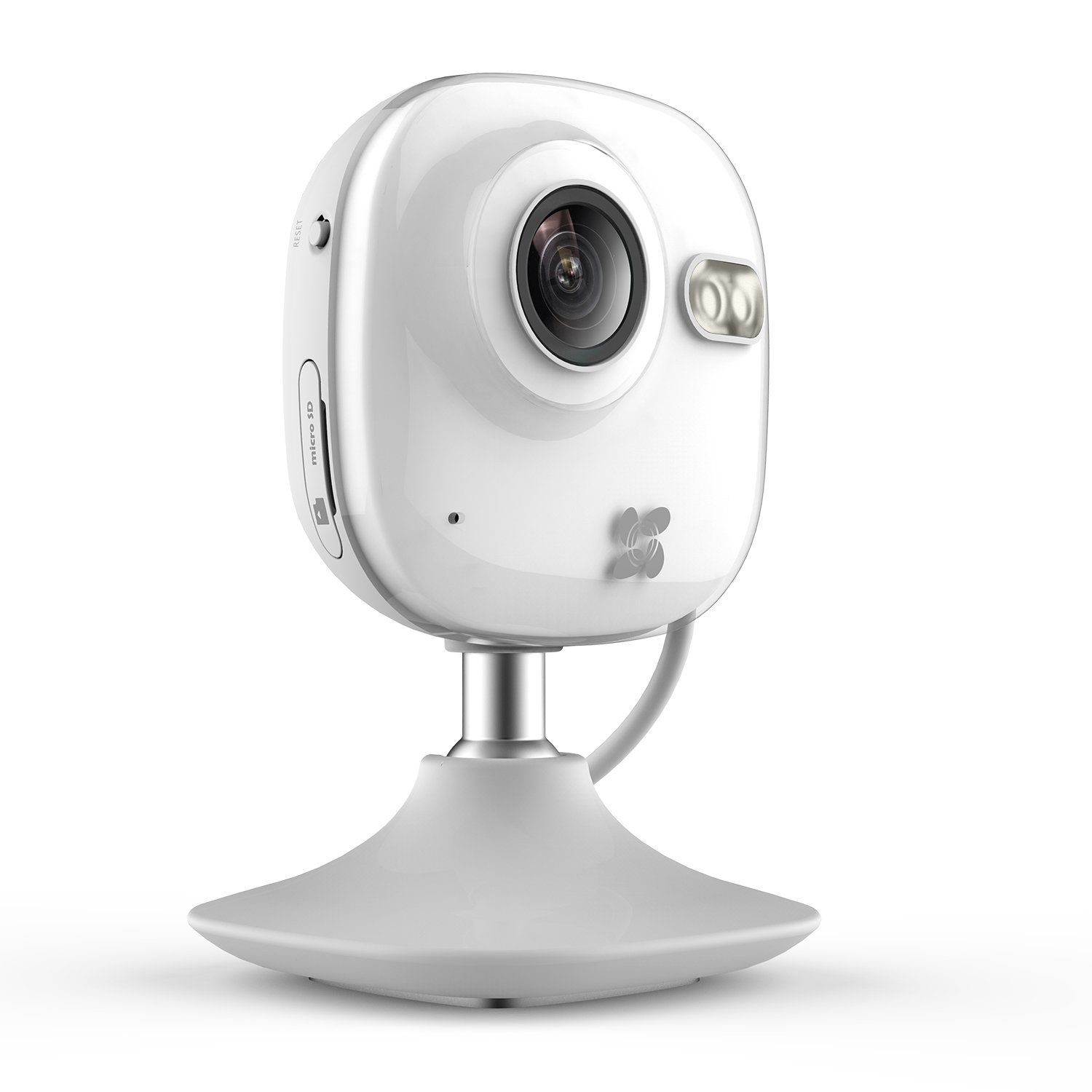 EZVIZ Mini HD 720p WiFi Home Security Camera with Motion Detection, 130° View, Night Vision, Works with Alexa using IFTTT, WiFi Band 2.4Ghz