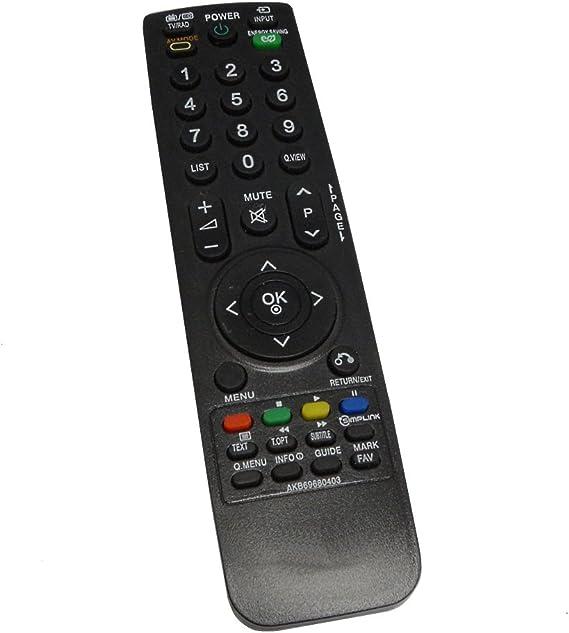 Aerzetix - DIS200 Mando a distancia para televisor compatible con ...