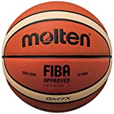 Molten X-Series Indoor/Outdoor Basketball, FIBA Approved - BGMX