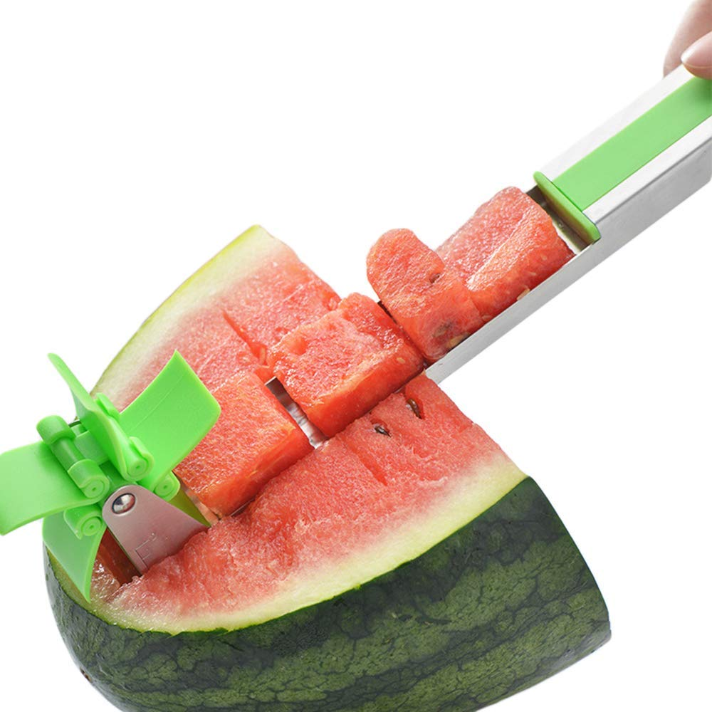 Watermelon Windmill Cutter Watermelon Slicer Cutter Knife, Creative Watermelon Windmill Cutter, Kitchen Gadgets by