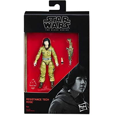Star Wars 2020 The Black Series Resistance Tech Rose (The Last Jedi) Action Figure 3.75 Inches: Toys & Games