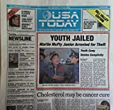 USA TODAY-BACK TO THE FUTURE NEWSPAPER, OCT. 22 2015-NEW, MINT CONDITION