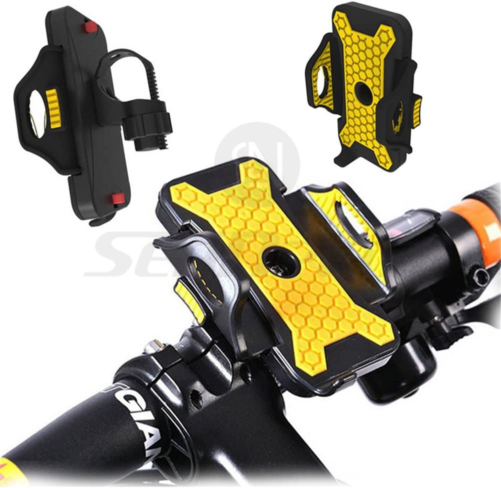 Inpay - Soporte Ajustable del Teléfono de Bicicleta - 360 grados ...