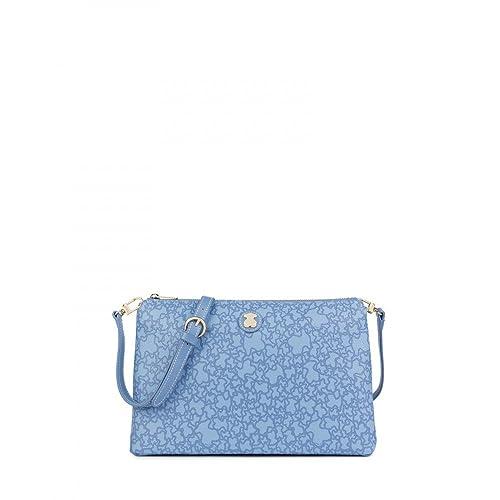 95b78ba79 Tous Bandolera grande Kaos Mini en color azul: Amazon.es: Zapatos y  complementos
