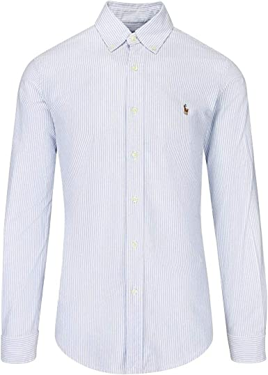 Ralph Lauren - Camisa formal - Classic Oxford: Amazon.es: Ropa y accesorios