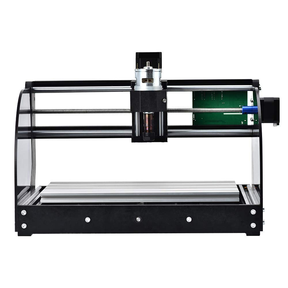 Vogvigo 2 in 1 CNC 3018 Pro-M Laser Engraving Machine with 15000 Laser Module 300x180x45mm CNC Router Kit GRBL Control 3 Axis DIY Mini Laser Engraver for Wood Plastic PVC PCB Acrylic