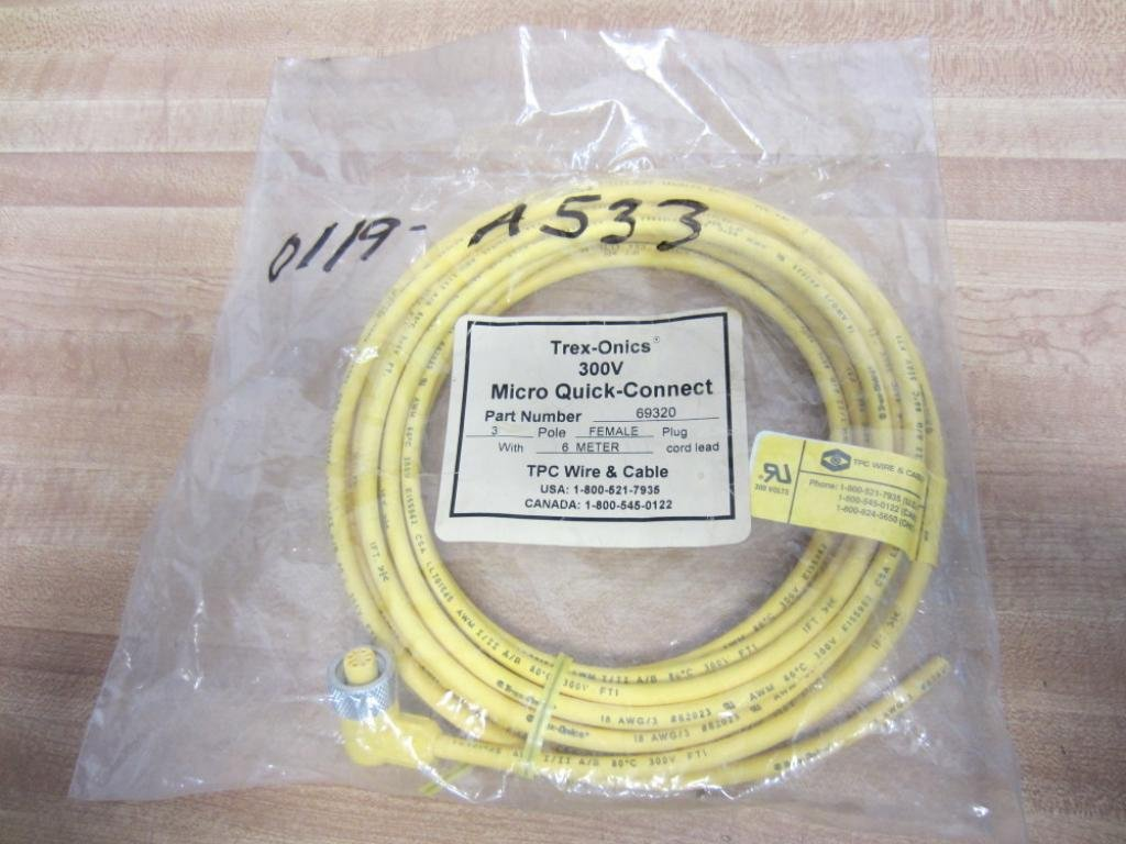 T.P.C. Wire & Cable 69320 TPC Wire & Cable Cable Rev. B: Amazon.com ...